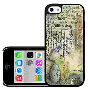 Colorful Antique/ Vintage Post Card Hard Snap on Phone Case (iPhone 5c)