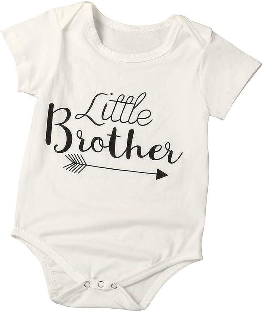 ALLAIBB Conjuntos de canastillas para bebés bebés Infantiles Trajes para bebés Varones Mameluco Camisetas Camisetas de Verano