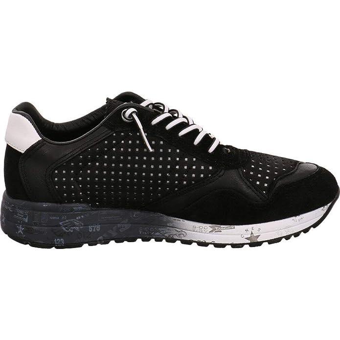 dc08c8059c294e C848 525038 Ante Cetti Negro Schwarz Sneaker Herren 354ALqjRc
