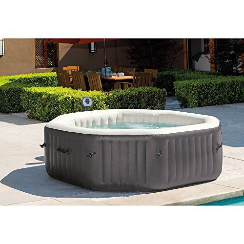 NEW 6-Person Octagonal PureSpa with 140 Bubble Jets by Intex