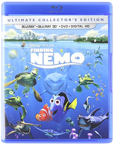 Blu-ray 3D : Finding Nemo (With Blu-Ray, With DVD, Boxed Set, Digitally Mastered in HD, Repackaged)