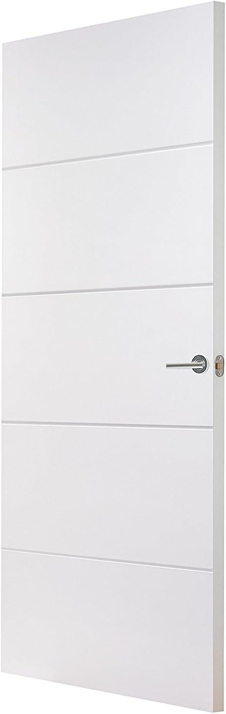 buildermerchant .com Moulded Internal Door 726x2040mm 4 Puerta interior moldeada 726 x 2040 mm 4, 726mm x 2040mm x 40mm: Amazon.es: Bricolaje y herramientas