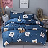 Cartoon Children's Bedding Three/Four Piece Set of Student Dormitory Covers Simple 1.5/1.8M Bed