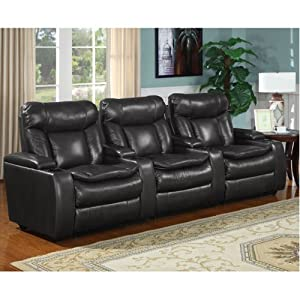 McKay 3-piece Leather Power Media Recliners - Black  sc 1 st  Amazon.com & Amazon.com: McKay 3-piece Leather Power Media Recliners - Black ... islam-shia.org