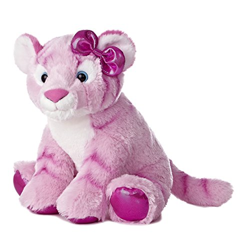 Aurora World Girlz Nation Pink Tiger Plush, 12""
