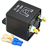 Ehdis® 12V 120A 4 Pin Car Relay Black Box Battery for Automobile Heavy