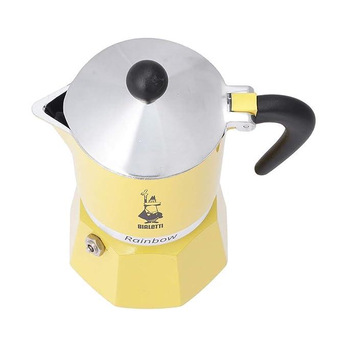 Bodum Rainbow - Cafetera exprés para cocinas - Amarillo - 3 tazas ...