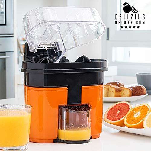 Eurowebb - Aparato de Doble exprimidor eléctrico, zumos de Naranja ...