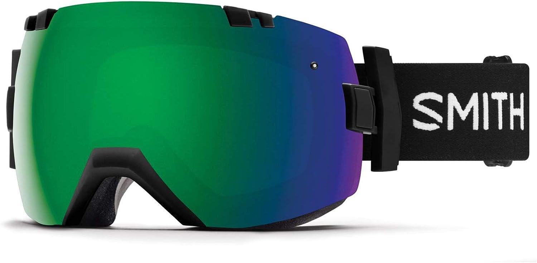 Smith Optics I/Ox Snow Goggles - Black Frame, Chromapop Sun Green Mirror Lens ii