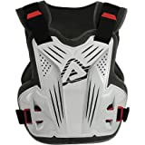 Acerbis Impact MX Chest Deflector (WHITE)