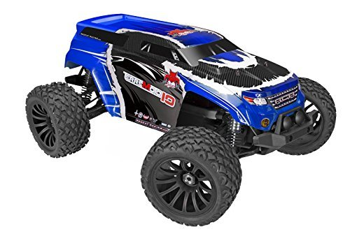 Redcat Racing Terremoto-10 V2 Brushless Electric SUV Vehicle (1/10 Scale), (Blue Suv)