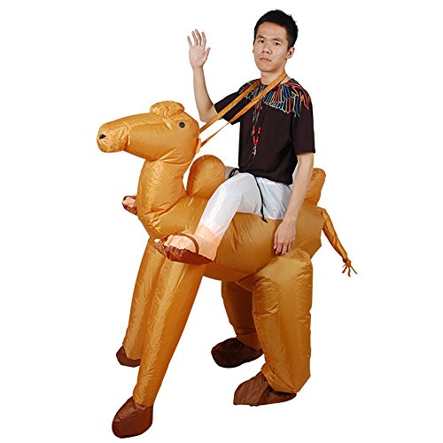 Vantina Inflatable Costume Ride Camel for Adult Animal Funny Dress