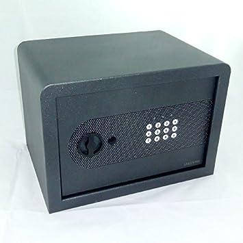 Notschl/üssel anthrazit Tresor Safe M/öbeltresor mit Zahlencode 6 l