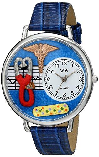 Whimsical Unisex Jewelry (Whimsical Watches Unisex US0620059 Nurse 2 Analog Display Japanese Quartz Blue)