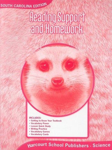 Harcourt Science South Carolina: SC Reading Support/Homework Student Edition Science 08 Grade 2 pdf