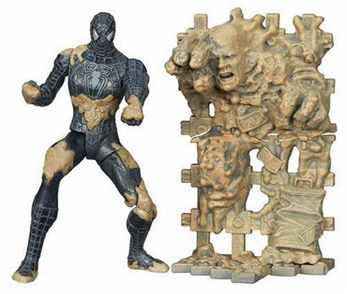 Sandman Costume (Spider-Man 3 Super Kick Action with Subway Sandman)