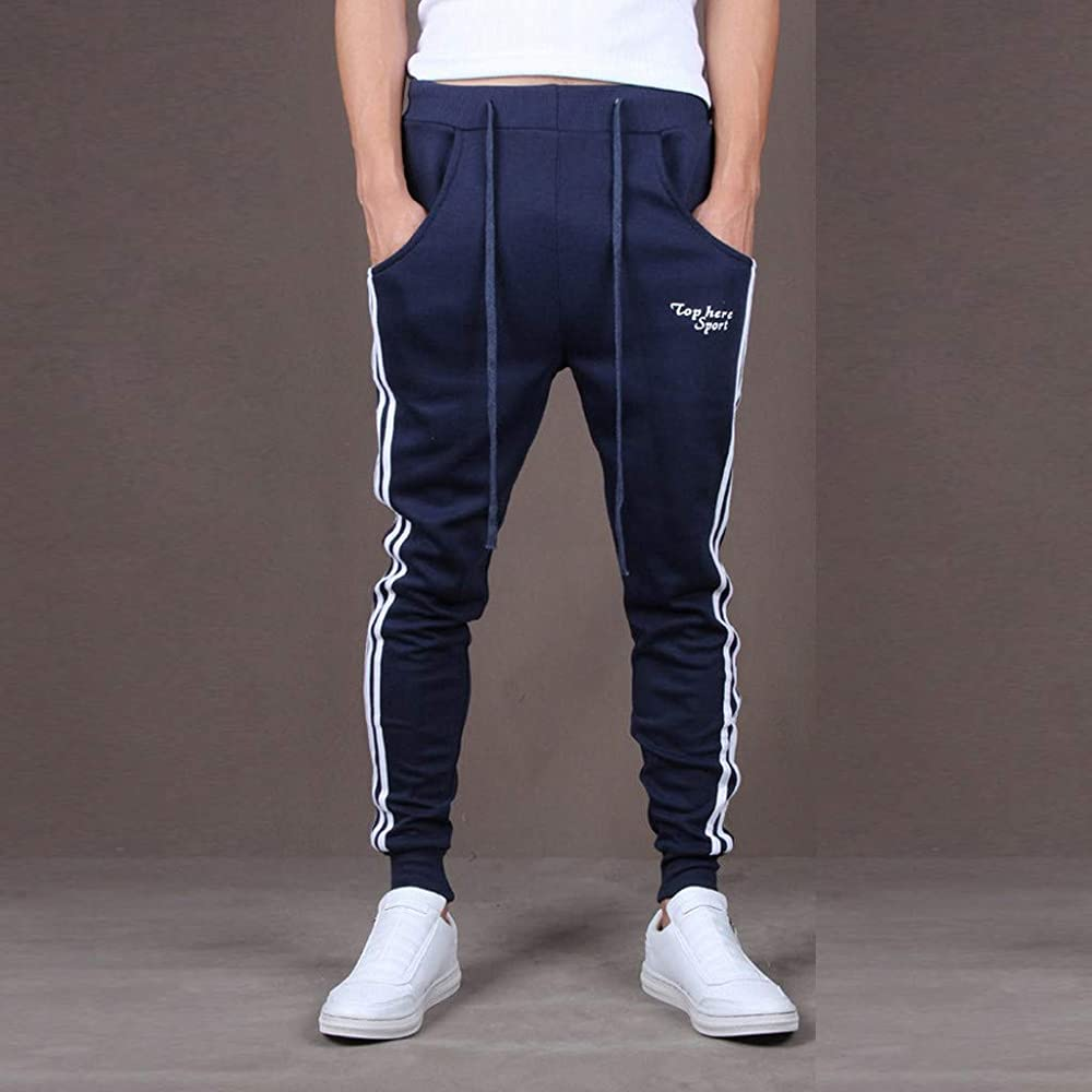 LEORTKS👉👉💟 Pantalones Hombre Empalme de Hombres Clasicos ...