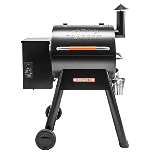 Traeger Grills TFB38TOD Renegade Pro Pellet Grill and Smoke 380 Sq. in. Cooking Capacity