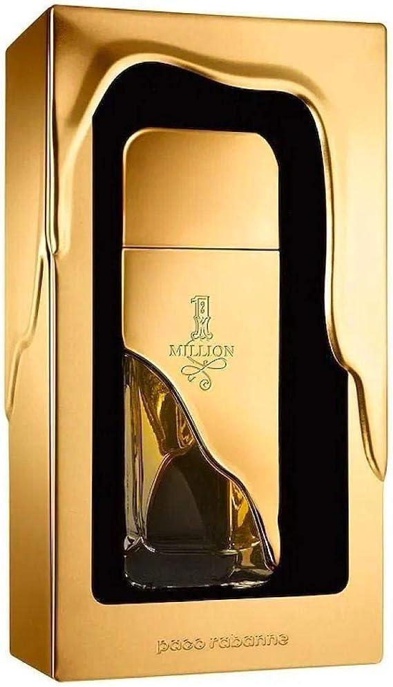 Paco Rabanne 1 Million Eau de Toilette Vaporizador 50 ml: Amazon.es: Belleza