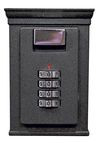 Secure-A-Key 6700W Select Access Key Storage Box with Set-Your-Own Combination Realtor Lock Box (Wall-Mounted )