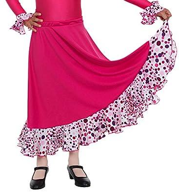 Happy Dance EF008 - Falda de Flamenco para niñas, Multicolor ...
