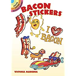 Bacon Stickers (Dover Little Activity Books Stickers)