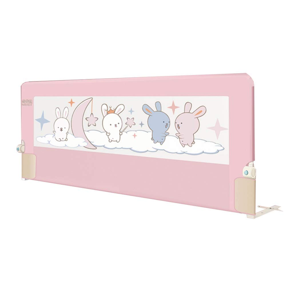 NAN liang 子供用ベッドレールFoldable 150cm簡単フィット子供安全用高層ベッドガードレール/子供/子供、ピンク色、丈夫でしっかりした (サイズ さいず : 180cm) 180cm  B07K8NPNVP