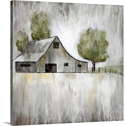 Nan F Premium Thick-Wrap Canvas Wall Art Print Entitled Weathered Barn 24