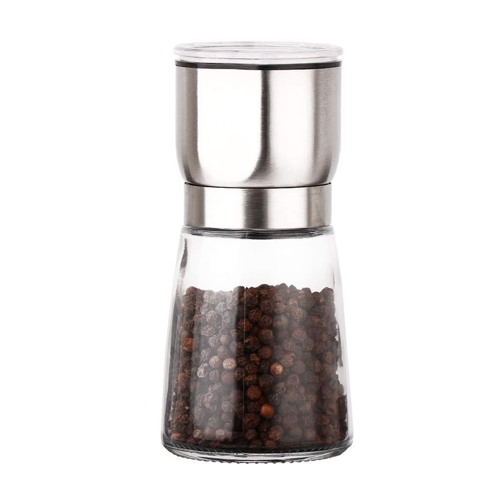 ZFDM Stainless Steel Grinding Ceramic Core Manual Pepper Pepper Salt Grinding Kitchen Seasoning Bottle