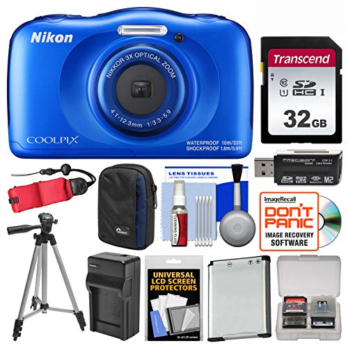 Nikon Blue Waterproof Camera - 5