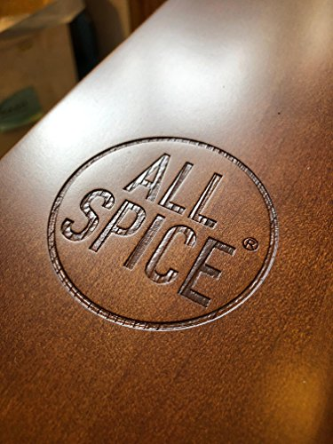 AllSpice Wooden Spice Rack, Includes 60 4oz Jars- Walnut by AllSpice (Image #5)