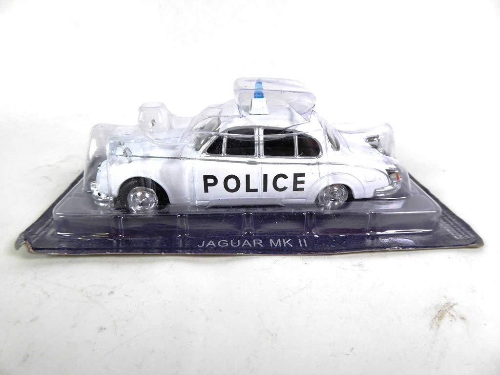 PM4 OPO 10 Jaguar MK II 1//43 World Police Car Collection Regno Unito