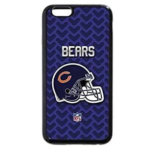 "KOKOJIA Customized NFL Series Case for iPhone 6+ Plus 5.5"", NFL Team Chicago Bears Logo iPhone 6 Plus 5.5"