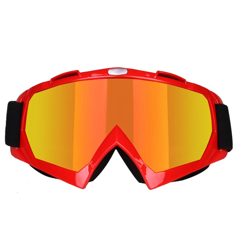 YAUNJK Off-Road-Brillen Motorradbrillen Radlokomotiven Windschutzscheiben-Skibrillen UV-Schutz Radsport-Brillen Sonnenbrille Herren