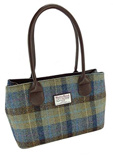 Ladies Genuine Handbags LB1003 Colours Various Classic Tweed Col58 Harris In Cassley EC1WwFqUpC