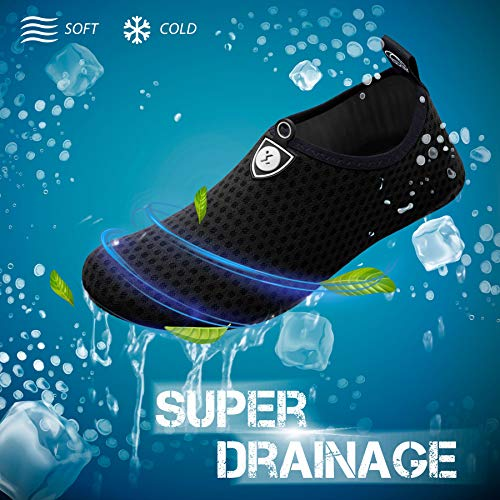 SIMARI Womens and Mens Water Shoes Quick-Dry Aqua Socks Barefoot for Outdoor Beach Swim Surf Yoga Exercise SWS001 2