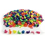 Colorations Big, Bright Animal Beads - 1 lb. (Item # ANIBEAD)