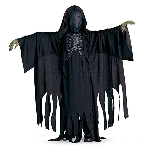 [Warner Bros. Youth Dementor Child Costume Large] (Harry Potter Dementor Fancy Dress Costume)