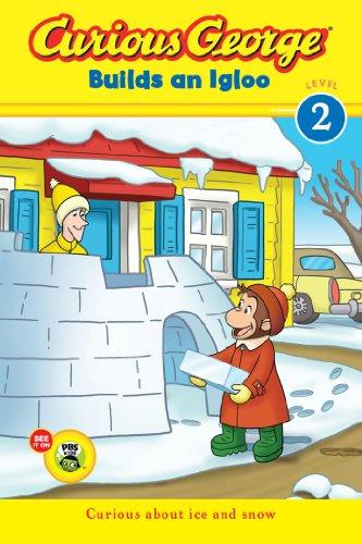 Curious George Builds an Igloo (CGTV reader) - Snow Igloo