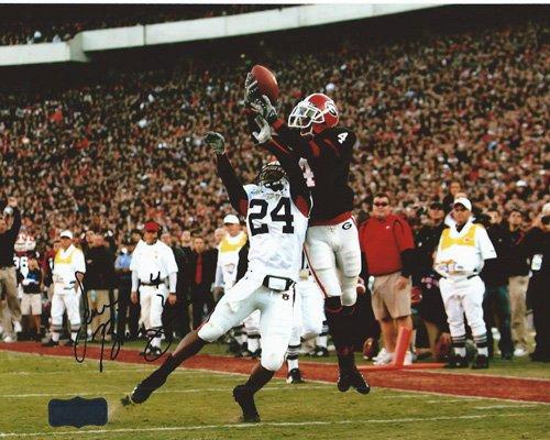 Sean Bailey Autographed/Signed Classic Georgia Bulldogs 8x10 NCAA Photo