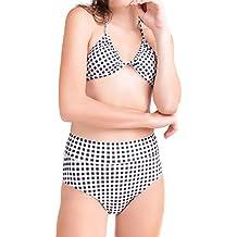 Xflyee Women Fashion Padded Bikini Set Swimsuit, Tankini Two Pieces Bathing Suit Swimwear