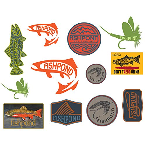 Fishpond Freshwater Sticker Bundle