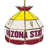 Trademark Arizona State University Stained Glass 16 Inch Tiffany Lamp
