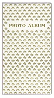 4'X6' 3-UP 96 PHOTO FLEXIBLE COVER ALBUM, FRAME COVER - WHITE Pioneer