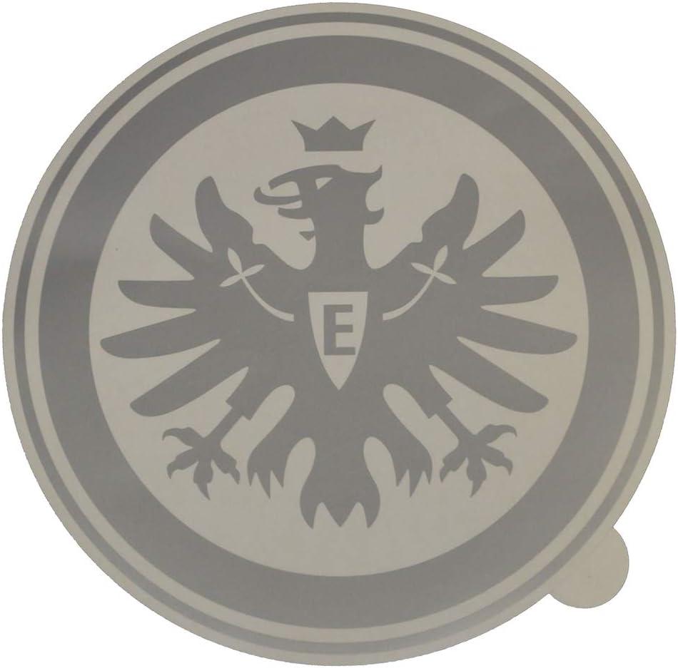 Eintracht Frankfurt Autoaufkleber Logo Silber 30 Cm Aufkleber Xxl Sticker Heckscheibenaufkleber Sge L Sport Freizeit