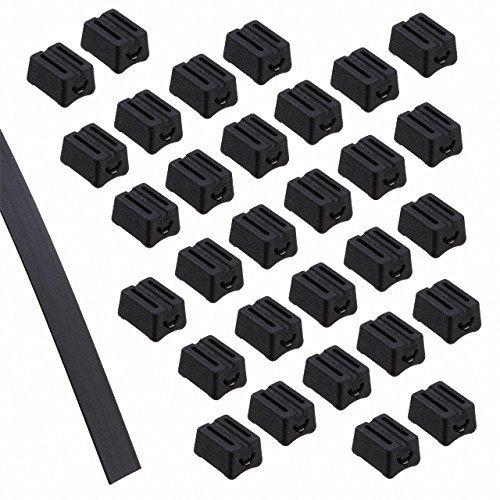 Hellermann Tyton TELS-1 Extended Length Tie, POM, Black, 10-50ft Reels of strap and by Hellermann Tyton