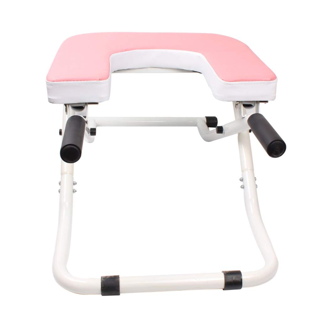 Sports & Fitness Yoga Inverted Chair Home Practice Inverted Auxiliary Tools Upside Down Folding Stool Indoor Fitness Equipment Folding (Load: 150kg) Exercise Ball Chairs