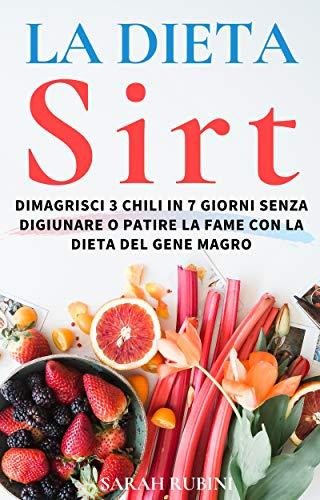 il menu dieta sirt