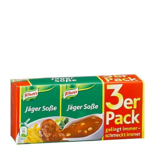 Knorr Hunter Sauce (Jäger Sosse) 3x3 Pack