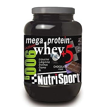Nutrisport Megaprotein 5 Whey - 900 gr: Amazon.es: Salud y ...